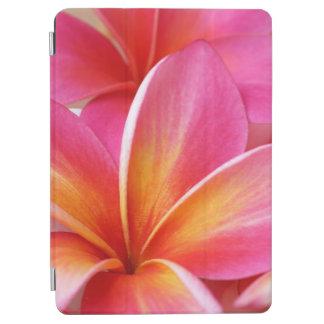 Plumeria Flowers Hawaiian Frangipani Floral Flower iPad Air Cover