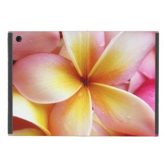 Plumeria Flowers Hawaiian Frangipani Floral iPad Mini Cover