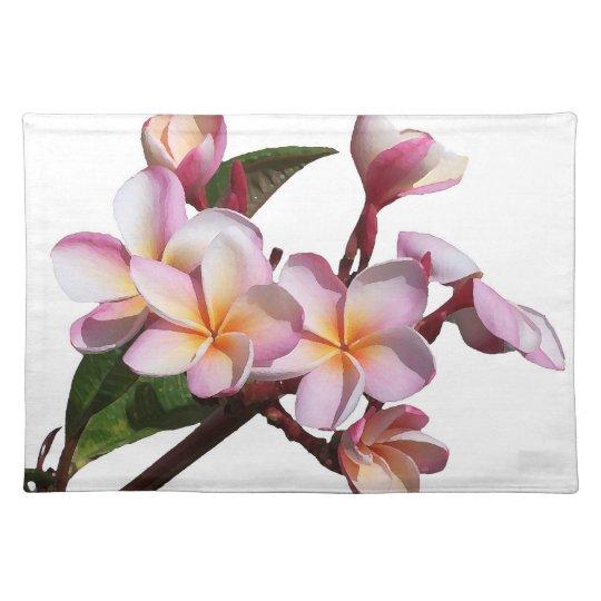 Plumeria Flowers Placemat