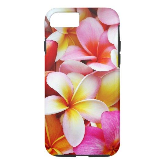 Plumeria Frangipani Hawaii Flower Customised iPhone 7 Case