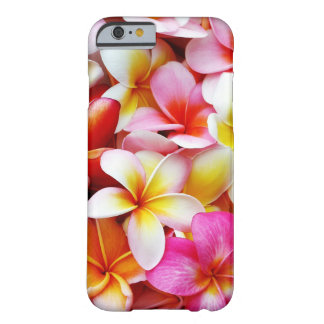 Plumeria Frangipani Hawaii Flower Customized Barely There iPhone 6 Case