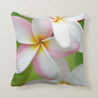 Plumeria Frangipani Hawaii Flower Customized Blank Cushion