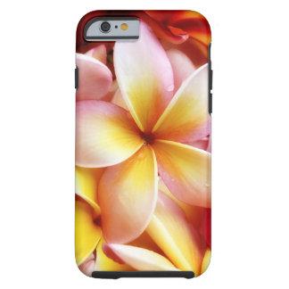 Plumeria Frangipani Hawaii Flower Customized Blank Tough iPhone 6 Case