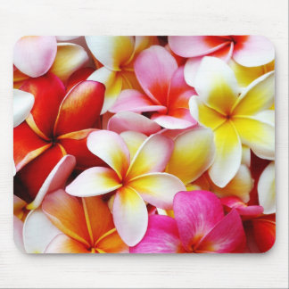 Plumeria Frangipani Hawaii Flower Customized Mouse Mat