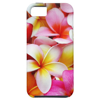Plumeria Frangipani Hawaii Flower Customized Tough iPhone 5 Case