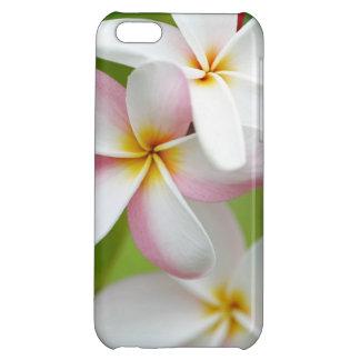 Plumeria Frangipani Hawaii Flower Hawaiian Flowers Case For iPhone 5C