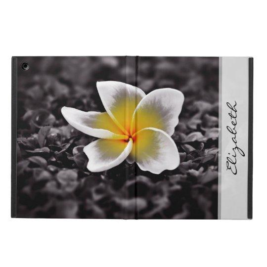 Plumeria Frangipani Hawaii Flower iPad Air Case