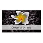 Plumeria Frangipani Hawaii Flowers Pack Of Standard Business Cards