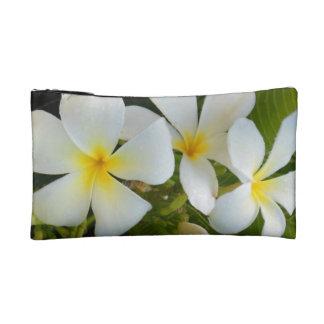 Plumeria in Hawaii Cosmetics Bags