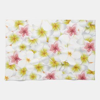 Plumeria Love Me Kitchen Towel