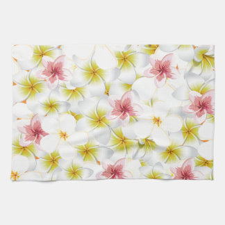 Plumeria Love Me Tea Towel