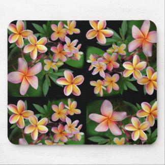 Plumeria Mouse Pad