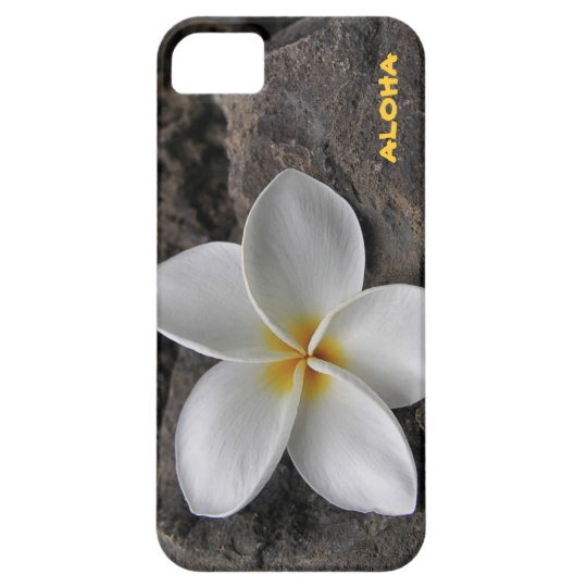 Plumeria on the rocks case for the iPhone 5