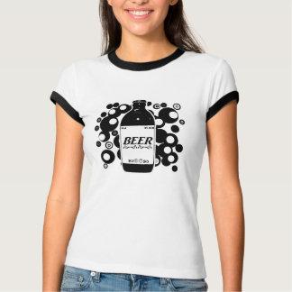 Plump Beer Bottle 67- Spheres T-Shirt