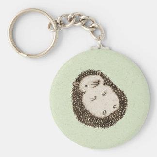 Plump Hedgehog Key Ring