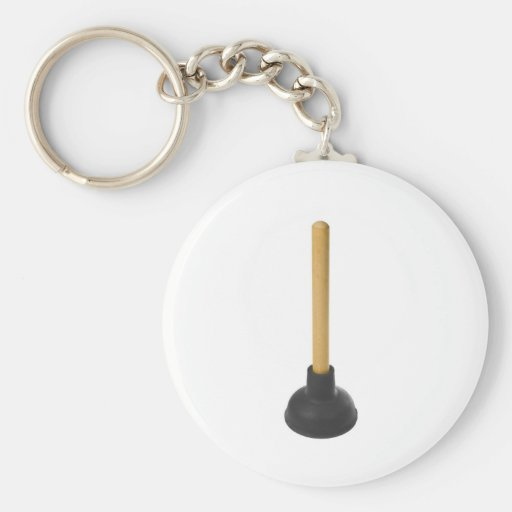 plunger - rubber suction cup key chain