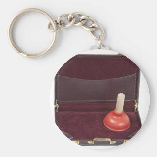 PlungerInBriefcase051411 Key Ring