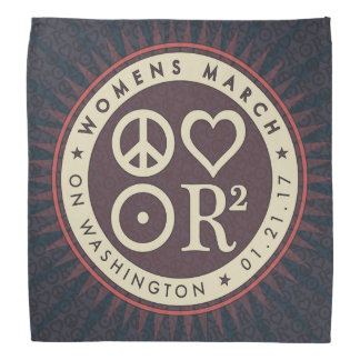 PLUR Symbols Women's March Bandana