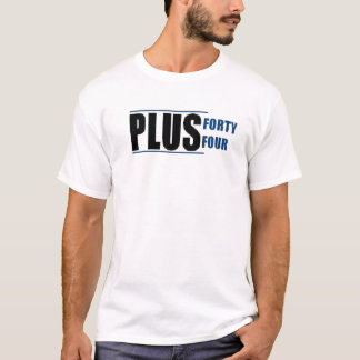 Plus 44 Custom Logo T-Shirt