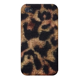Plush Animal Leopard Print iPhone 4/4S Cover