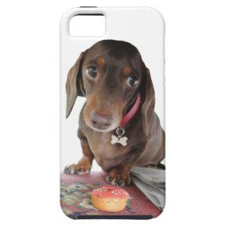 Pluto dachshund cute face phone case