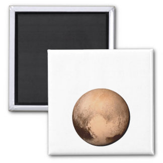PLUTO FOR PLANETHOOD - JOIN THE CAMPAIGN! (space) Square Magnet