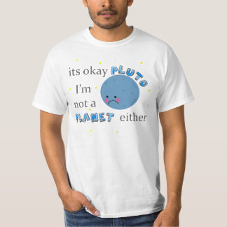 pluto is not a planet t shirts