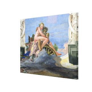 Pluto Raping Proserpine (fresco) Canvas Print