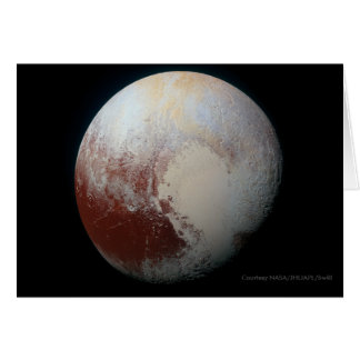 Pluto - The Largest Dwarf Planet Greeting Card