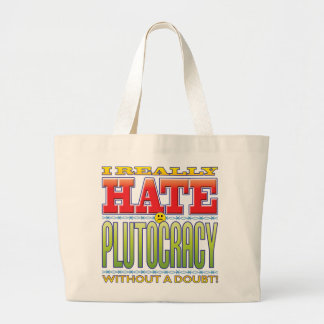 Plutocracy Hate Face Tote Bags