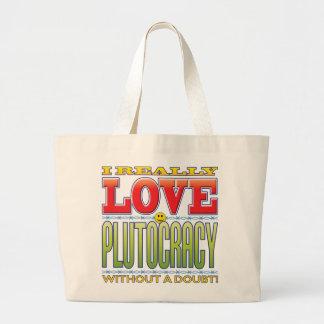 Plutocracy Love Face Bag