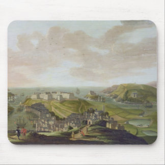 Plymouth, 1673 (oil on canvas) mouse pad