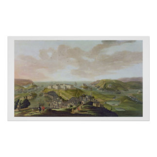 Plymouth, 1673 (oil on canvas) poster