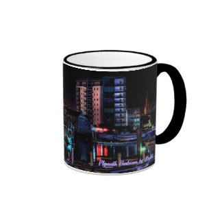 Plymouth Barbican by Night Mug