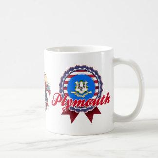 Plymouth, CT Coffee Mug