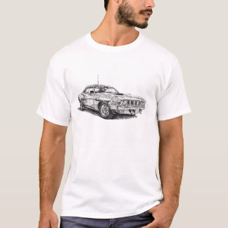 Plymouth Cuda 340 T-Shirt