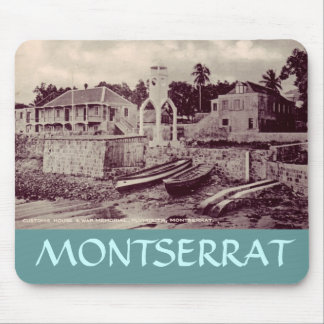 Plymouth - Customs house & War Memorial, MONTSE... Mouse Pad
