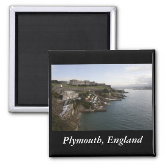Plymouth, England Magnet