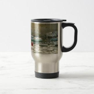 Plymouth harbor stainless steel travel mug