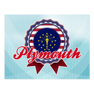 Plymouth, IN Postcard