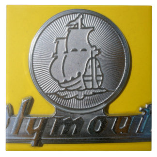 Plymouth Large Square Tile