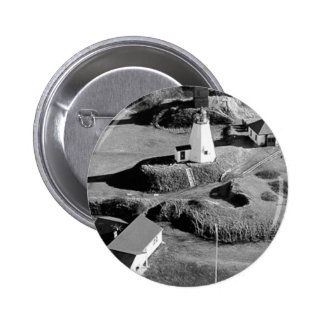 Plymouth Lighthouse 6 Cm Round Badge