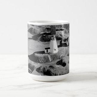 Plymouth Lighthouse Basic White Mug