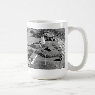 Plymouth Lighthouse Classic White Coffee Mug