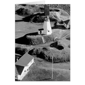 Plymouth Lighthouse Greeting Card