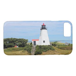 "Plymouth Lighthouse, ""the Gurnet"" Massachusetts iPhone 8/7 Case"