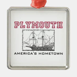 Plymouth, MA Christmas Ornament