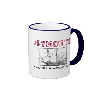 Plymouth, MA Ringer Mug
