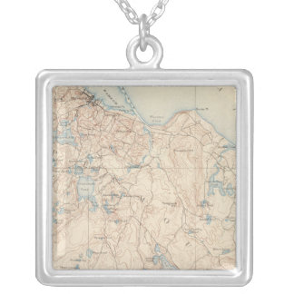 Plymouth, Massachusetts Silver Plated Necklace