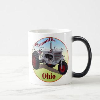 Plymouth, Ohio Morphing Mug